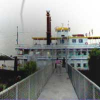 Ghost photo of New Orleans River boat sent to us by H. Wiggins.