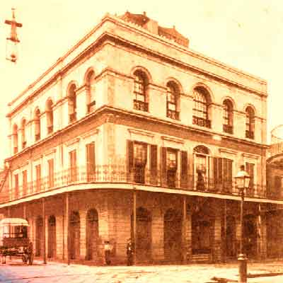 LaLaurie Mansion, Haunted