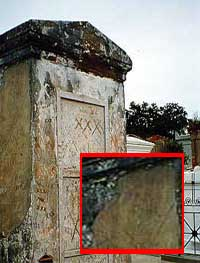 MARIE LAVEAU TOMB NEW ORLEANS CEMETERY GHOST REAL PICTURES ...